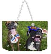 Patriotic Pups Weekender Tote Bag