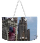 Patriotic View Weekender Tote Bag