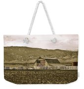Patriotism And Barn Weekender Tote Bag