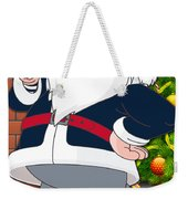 Patriots Santa Claus Weekender Tote Bag