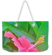Pat's Hibiscus  Weekender Tote Bag
