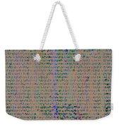Pattern 102 Weekender Tote Bag