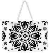 Pattern Art 01-2 Weekender Tote Bag by Bobbi Freelance