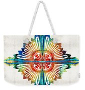 Pattern Art - Color Fusion Design 1 By Sharon Cummings Weekender Tote Bag