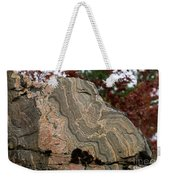 Pattern In A Gneiss Rock Weekender Tote Bag