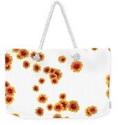 Patterns From Flowers Weekender Tote Bag