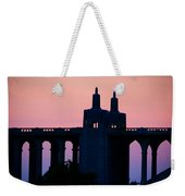Patterson Architecture Sunrise Weekender Tote Bag