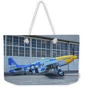 Paul 1 P-51d Mustang Weekender Tote Bag