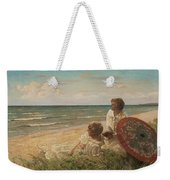 Paul Fischer, 1860-1934, Girls On The Beach Weekender Tote Bag