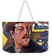 Paul Gaugin (1848-1903) Weekender Tote Bag