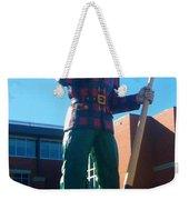 Paul Bunyan Weekender Tote Bag