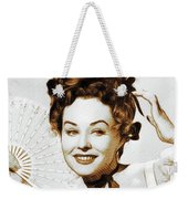 Paulette Goddard, Hollywood Legend Weekender Tote Bag