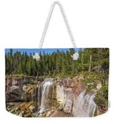 Paulina Creek Falls From The Top Weekender Tote Bag