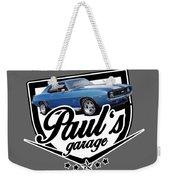 Pauls Garage Camaro Weekender Tote Bag