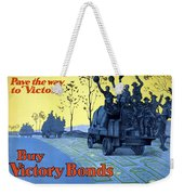 Pave The Way To Victory Weekender Tote Bag by War Is Hell Store