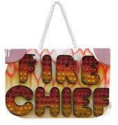 Pavilion Fire Chief Weekender Tote Bag