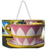 Pavilion Tea Cups Weekender Tote Bag