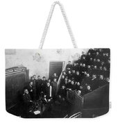 Pavlov In Lecture Theater, 1904 Weekender Tote Bag