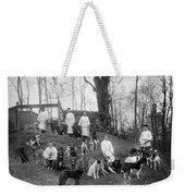 Pavlovs Dogs With Their Keepers, 1904 Weekender Tote Bag