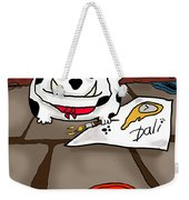 Paw Artist Give Generously Weekender Tote Bag