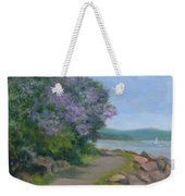 Paulownia Along The Nyack Trail Weekender Tote Bag