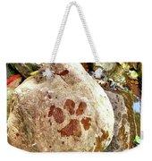 Paws On The Rocks Weekender Tote Bag