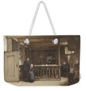 Payday, The Ships Room Right House Nieuw-loosdrecht, Furnished With Seventeenth-century Figures, Joh Weekender Tote Bag
