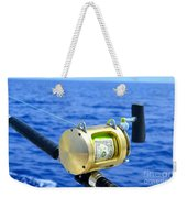 Payment To The Fish Gods Weekender Tote Bag