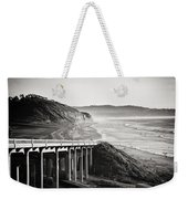 Pch Scenic In Black And White Weekender Tote Bag