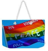 Peace - Paz - Paix Weekender Tote Bag