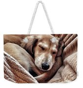 Peace At Last #saluki Weekender Tote Bag