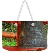 Peace Bell Weekender Tote Bag