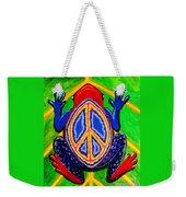 Peace Frog Too Weekender Tote Bag
