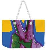 Peace Hand Weekender Tote Bag