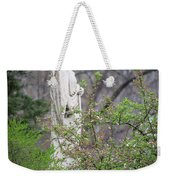 Peace In Eternal Prayer Weekender Tote Bag