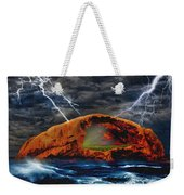 Peace In The Cleft In The Midst Of The Storm Weekender Tote Bag