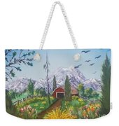 Peace In The Valley Weekender Tote Bag