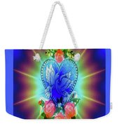 Peace Light And Love Weekender Tote Bag
