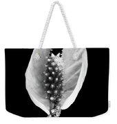 Peace Lily Elegant Flower Weekender Tote Bag