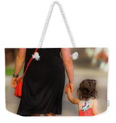 Peace Now Color Weekender Tote Bag
