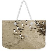 Peace On The Beach Weekender Tote Bag