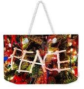 Peace Ornament Weekender Tote Bag