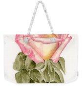 Peace Rosebud Weekender Tote Bag