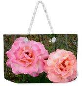 Peace Roses Weekender Tote Bag