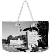 Peace Through Strength - Veterans War Memorial Weekender Tote Bag