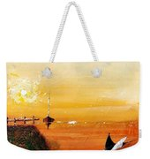 Peace Underneath 4 Weekender Tote Bag