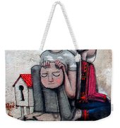 Malland Peace With Justice Weekender Tote Bag