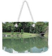 Peaceful Bridge In Tokyo Park Weekender Tote Bag