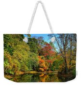 Peaceful Calm - Allaire State Park Weekender Tote Bag