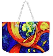 Peaceful Coexistence Weekender Tote Bag